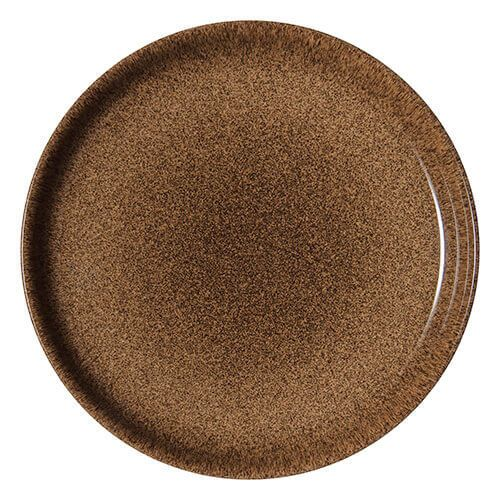 Denby Studio Craft Chestnut Coupe Dinner Plate