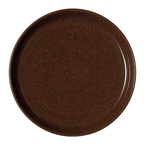 Denby Studio Craft Walnut Medium Coupe Plate