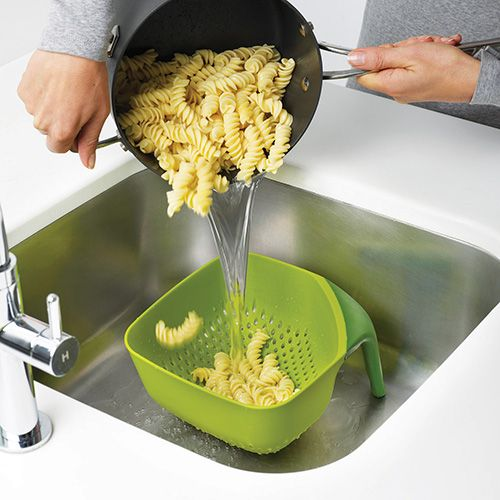 Joseph Joseph Square Colander Medium Green