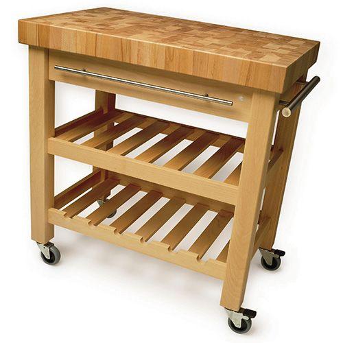 Eddingtons leverton kitchen trolley harts of stur eddingtons the leverton solid beech kitchen trolley watchthetrailerfo