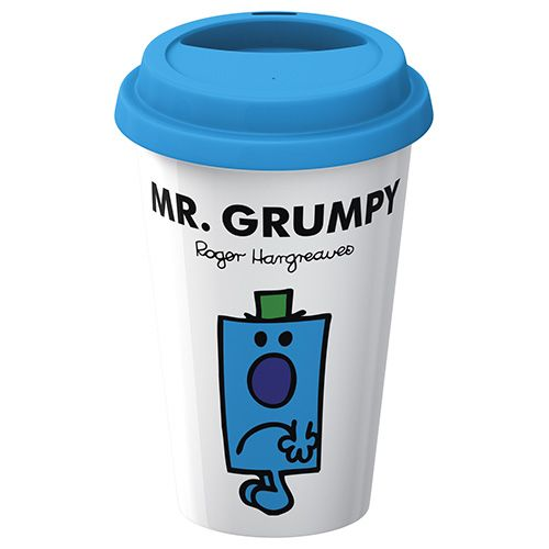 Mr Men Mr Grumpy Travel Mug