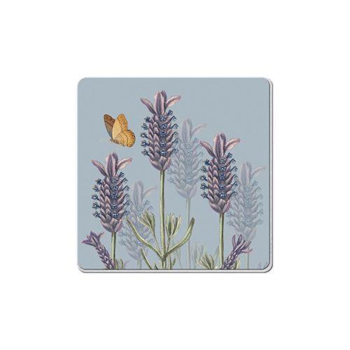 Royal Botanic Gardens Kew Lavender Set Of 6 Coasters