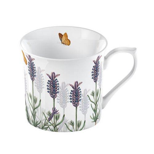 Royal Botanic Gardens Kew Lavender Palace Mug White