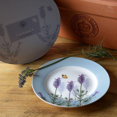 Royal Botanic Gardens Kew Lavender Set Of 4 Side Plates