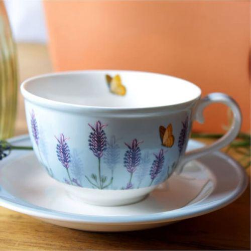 Royal Botanic Gardens Kew Lavender Cup and Saucer
