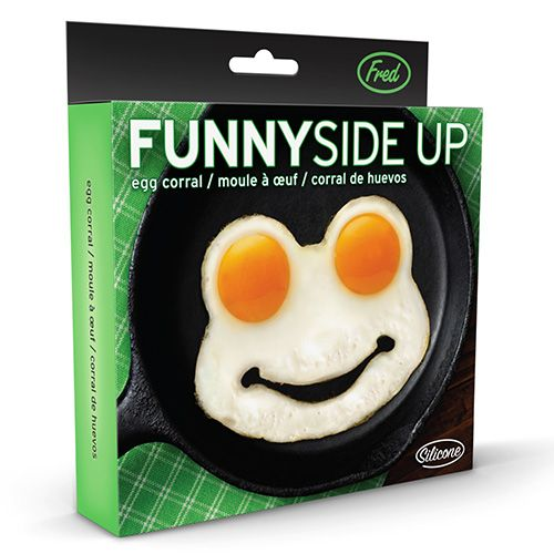 Fred Frog Funny Side Up Novelty Egg Ring