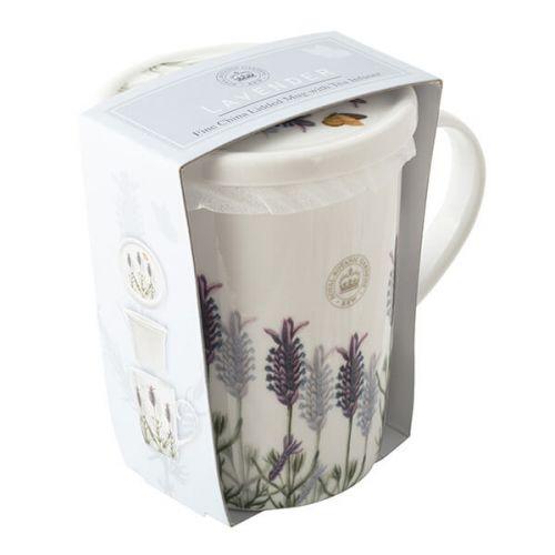 Royal Botanic Gardens Kew Lavender Mug, Coaster & Infuser