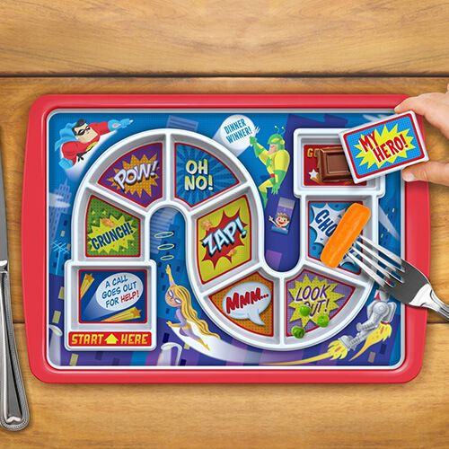 Fred Dinner Winner Tray With Hero Design