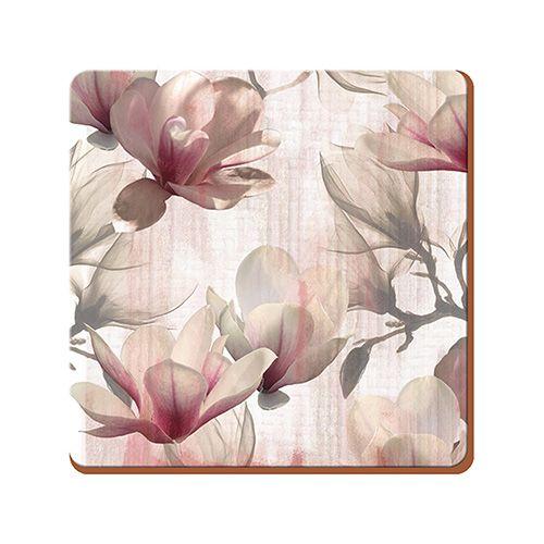 Creative Tops Magnolia Set Of 6 Premium Coasters