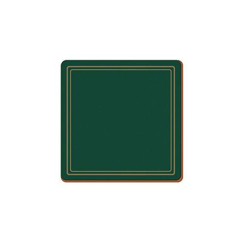 Creative Tops Classic Green Set Of 6 Premium Coasters