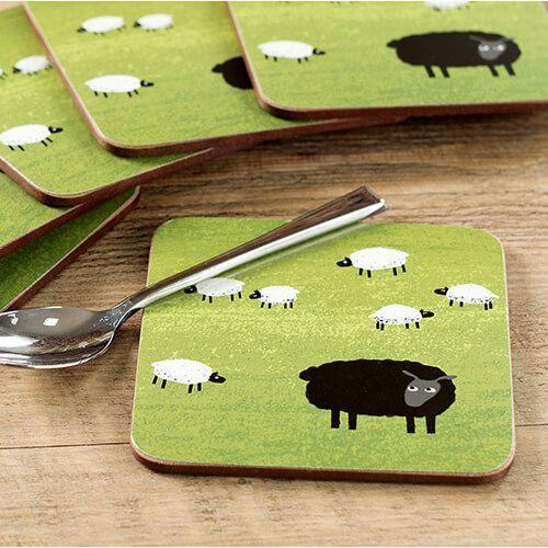 Creative Tops Woolly Mornings Set Of 6 Premium Coasters