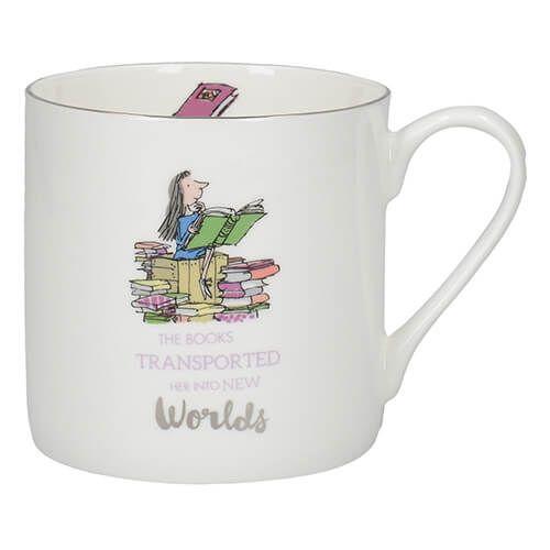 Roald Dahl Matilda Fine Bone China Can Mug