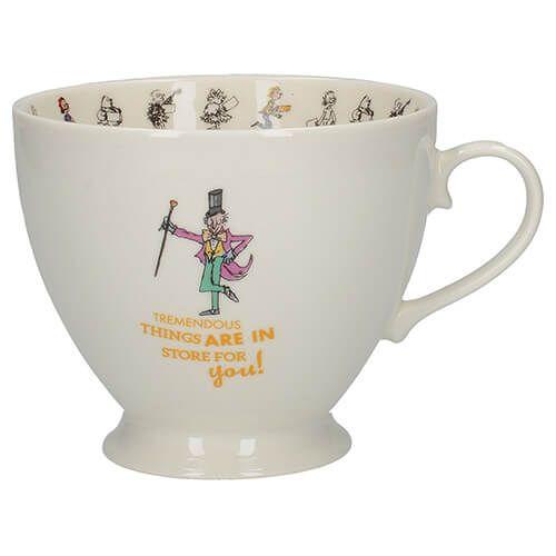Roald Dahl Charlie & The Chocolate Factory Footed Mug