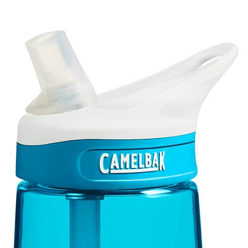 CamelBak 750ml Eddy Rain Blue Water Bottle