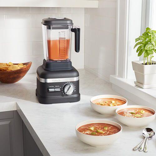 KitchenAid Artisan Power Blender Plus Cast Iron Black With FREE Blender Jar