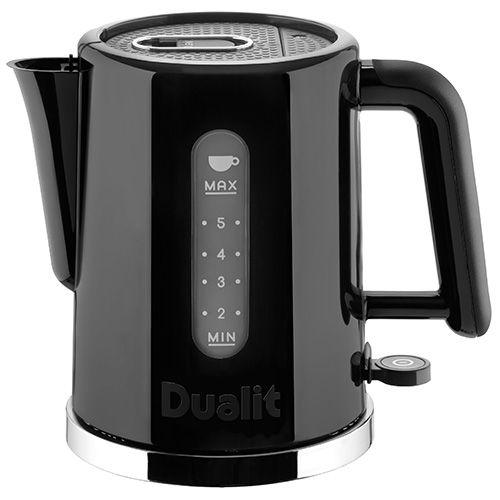 dualit studio kettle 1 5l black polished 72120. Black Bedroom Furniture Sets. Home Design Ideas