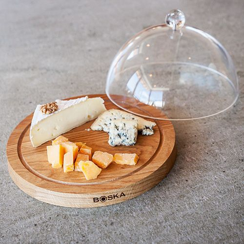 Boska Cheese Board Oak With Dome