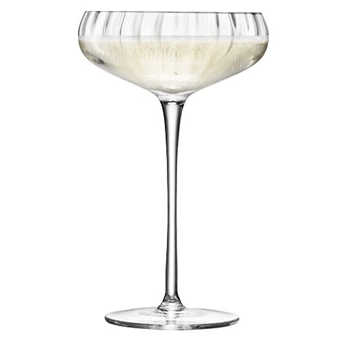 LSA Aurelia Champagne Saucer 300ml Set Of Four