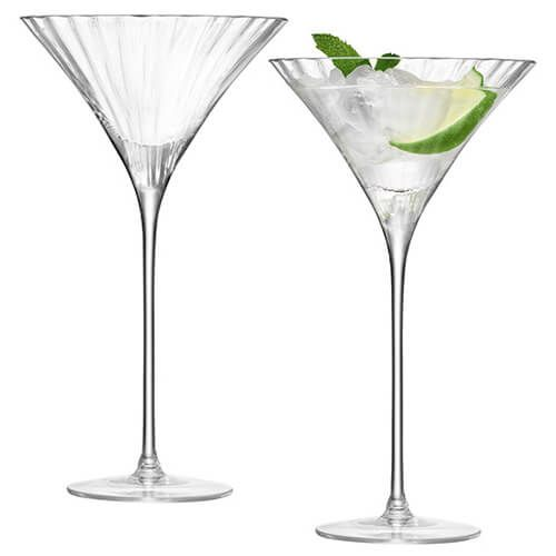 LSA Aurelia Cocktail Glass 275ml Set Of Two