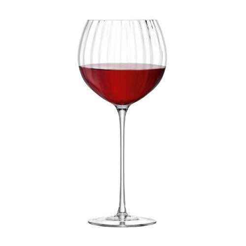 LSA Aurelia Balloon Wine Glass 570ml Clear Optic Set Of Four