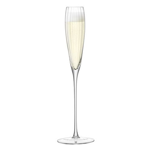 LSA Aurelia Grand Champagne Flute 165ml Clear Optic Set Of Two
