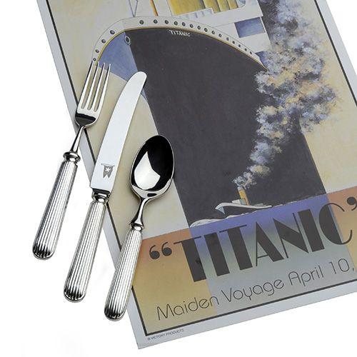Arthur Price Of England Titanic 7 Piece Place Setting