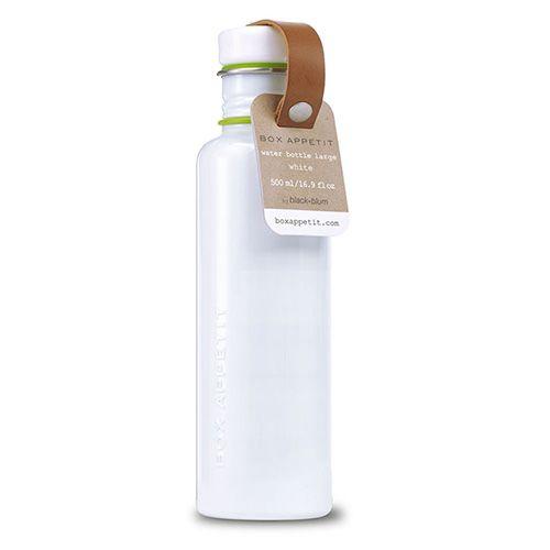 Black + Blum Box Appetit Water Bottle White Large