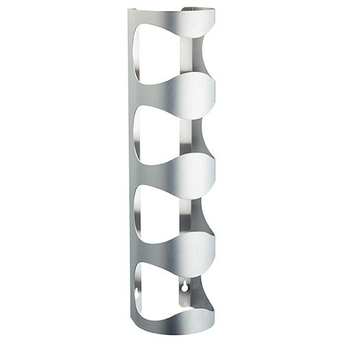 BarCraft Stainless Steel Wall Mounted Wine Rack