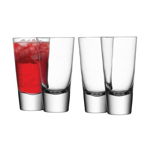 LSA Bar Long Mixer Glass Set Of Four