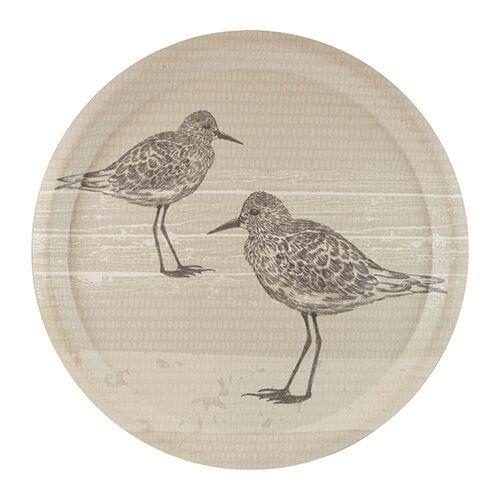 English Tableware Company Sandpiper Round Tray