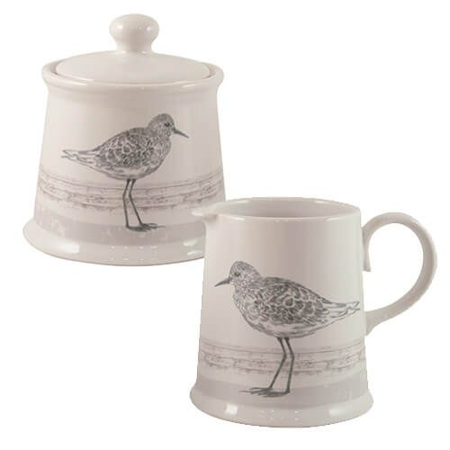 English Tableware Company Sandpiper Creamer Jug & Sugar Bowl Set