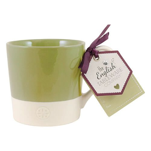 English Tableware Company Artisan Green Two Tone Mug