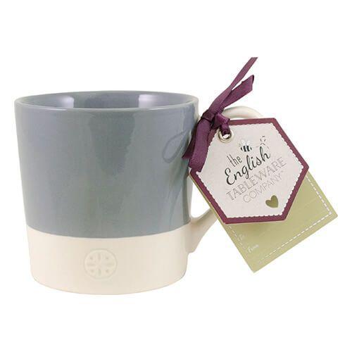 English Tableware Company Artisan Blue Two Tone Mug