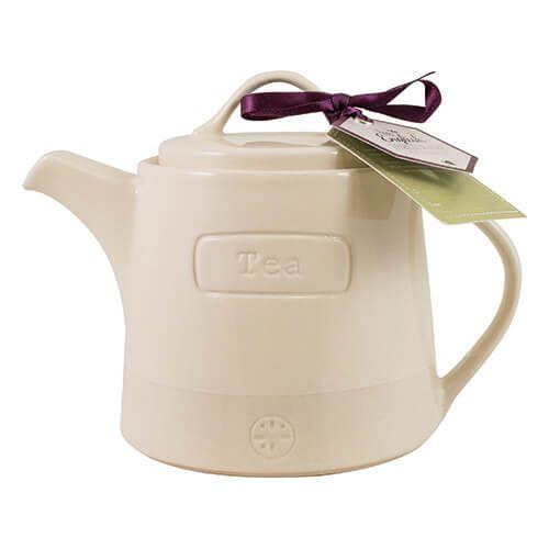 English Tableware Company Artisan Cream Teapot
