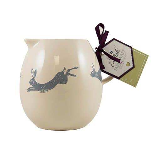 English Tableware Company Artisan Hare Milk Jug