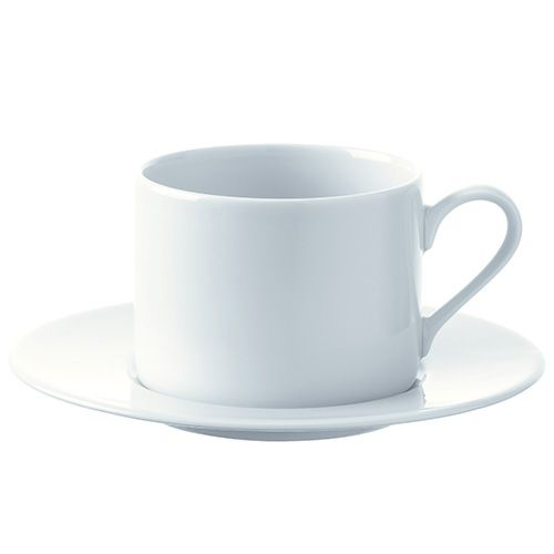 LSA Dine Tea/Coffee Cup & Saucer Straight 0.25L Set Of 4