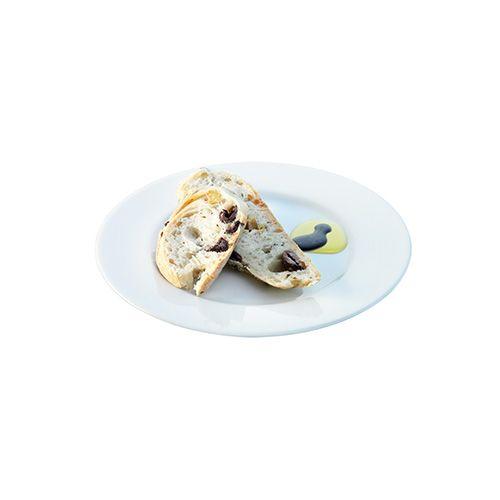 LSA Dine Bread/Cake Plate Rimmed 18cm Set Of 4