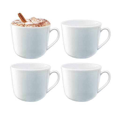 LSA Dine Curved Mug 400ml Set Of 4