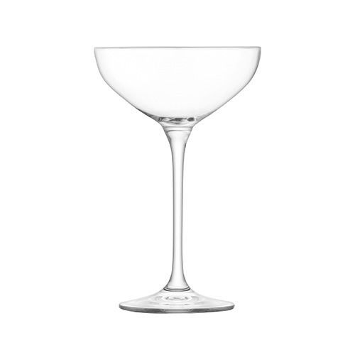 LSA Tower Champagne Saucer Set Clear 10 Piece