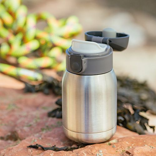 Judge Pot Holders: Judge Stainless Steel 180ml Insulated Sports Bottle J181