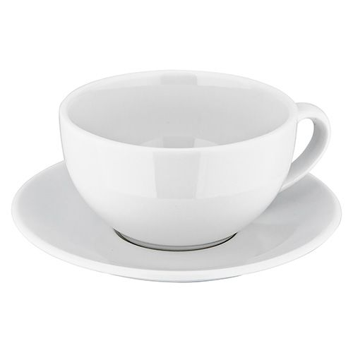 Judge Table Essentials White Cappuccino Cup & Saucer