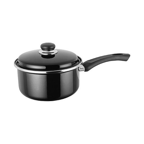 Judge Pot Holders: Judge Induction Black 20cm Saucepan