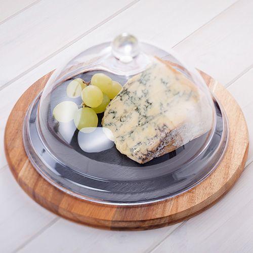 Judge Slate 25cm Cheese Board Set