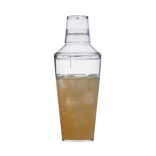 BarCraft Acrylic 700ml Cocktail Shaker