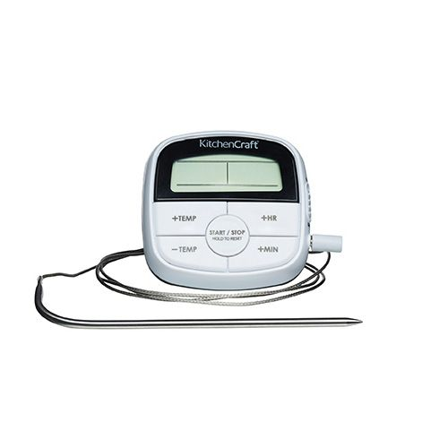 Kitchencraft Digital Cooking Thermometer Amp Timer Kcdigtimth