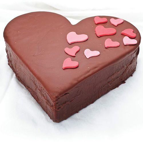 Dexam Bakers Pride Non-Stick Heart Springform Pan, 22.5cm
