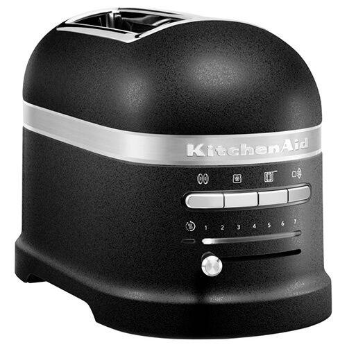 Kitchenaid Artisan Cast Iron Black 2 Slot Toaster And