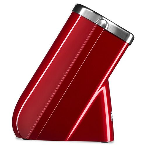 KitchenAid Knife Block Candy Apple With FREE Paring Knife