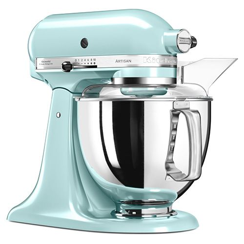 Kitchenaid Artisan Ice Blue Food Mixer Ksm175psic