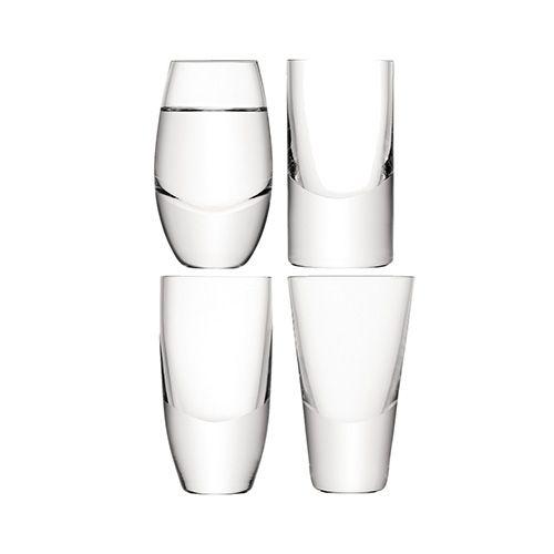LSA LULU Vodka Glass Set Of Four